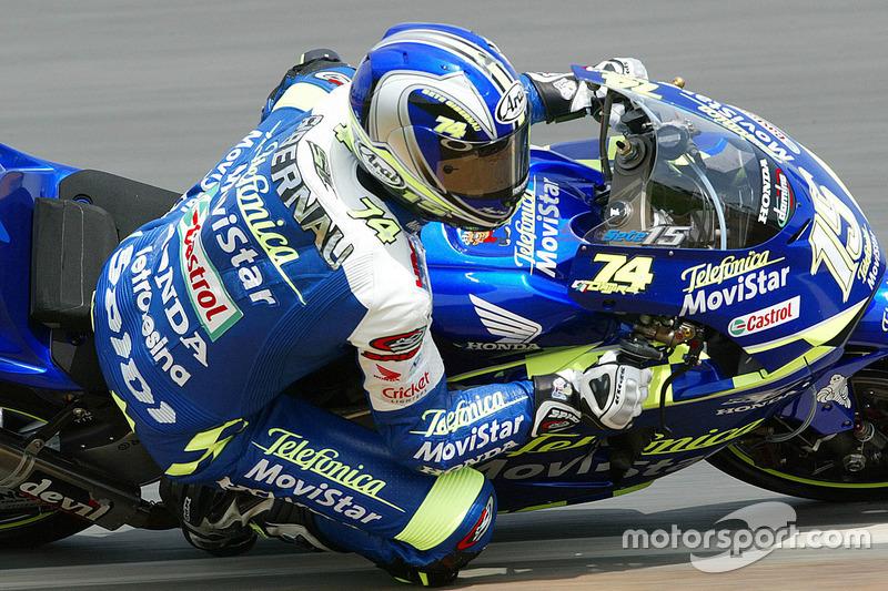 2003: Sete Gibernau, Honda RC211V