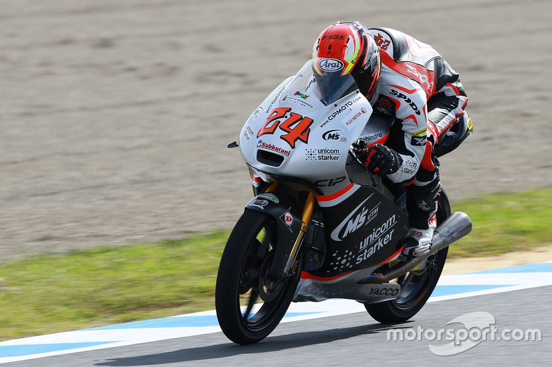Tatsuki Suzuki, CIP-Unicorn Starker, Moto3
