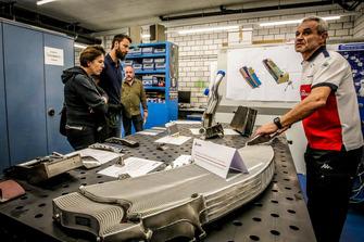Radiatore della monoposto 2016 di Ericsson