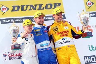 Podio - Ricky Collard, WSR BMW, Sam Tordoff, Motorbase Performance Ford Focus y Tom Chilton, Motorbase Performance Ford Focus