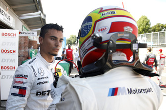 Pascal Wehrlein, Mercedes-AMG Team HWA and Augusto Farfus, BMW Team RMG