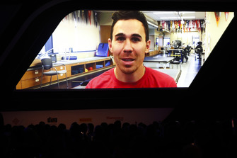 Rookie of the Year nominee Robert Wickens sends a video message update on his recovery