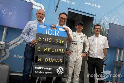 VW ID.R: Rekordfahrt auf der Nordschleife