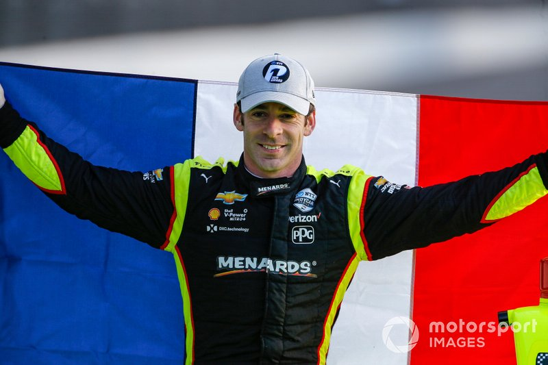 Simon Pagenaud, Team Penske Chevrolet Phillip Abbott