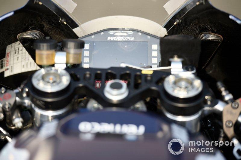 La moto del Avintia Ducati