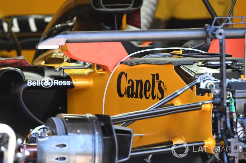 Renault Sport F1 Team RS17, Vorderradaufhängung