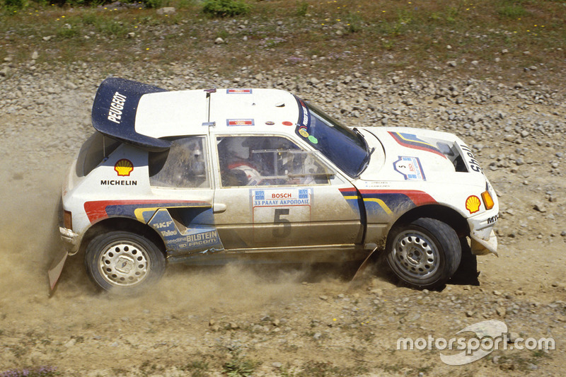 Juha Kankkunen, Juha Piironen, Peugeot 205 Turbo 16 E2