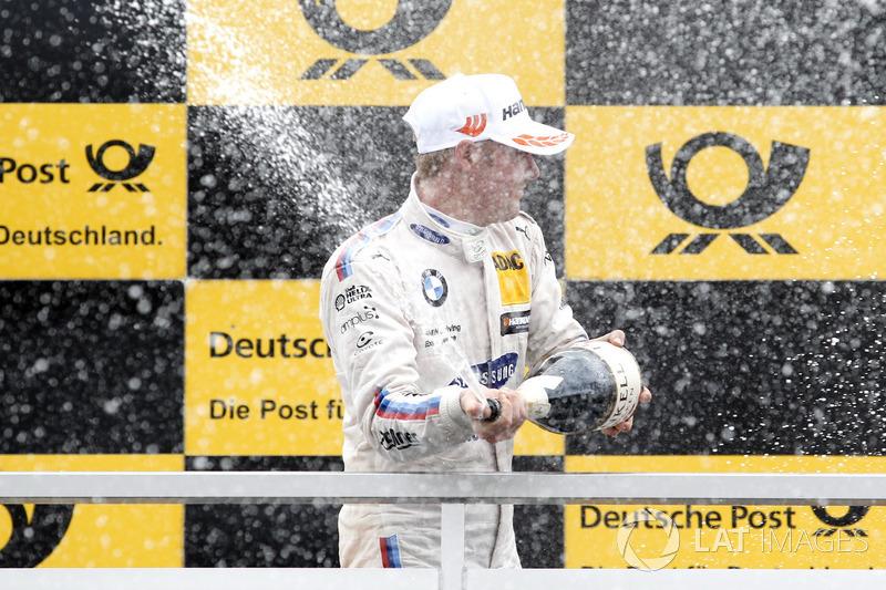 Подіум: Максим Мартен, BMW Team RBM, BMW M4 DTM