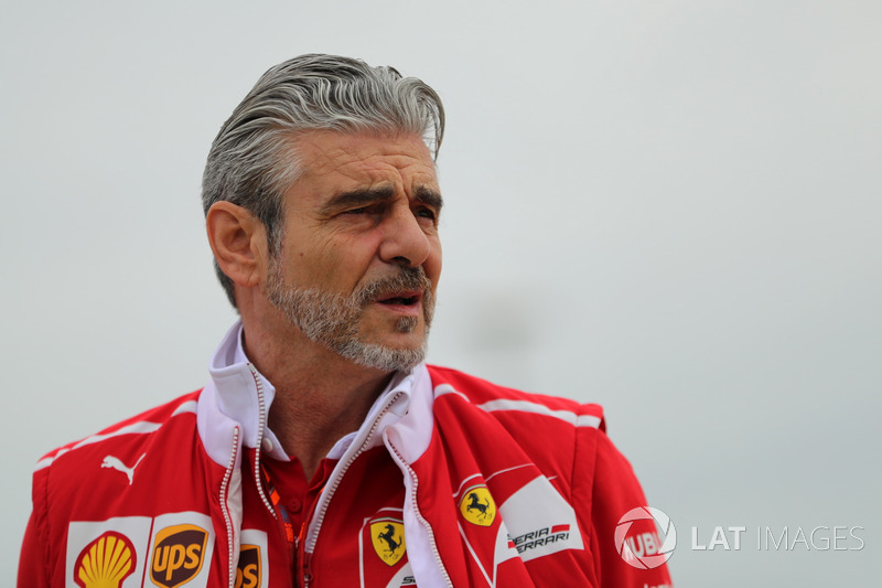 Maurizio Arrivabene, Jefe del equipo Ferrari