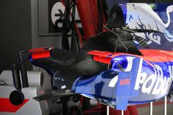 Chasis y Aero-detalle de Carlos Sainz Jr., Scuderia Toro Rosso STR12