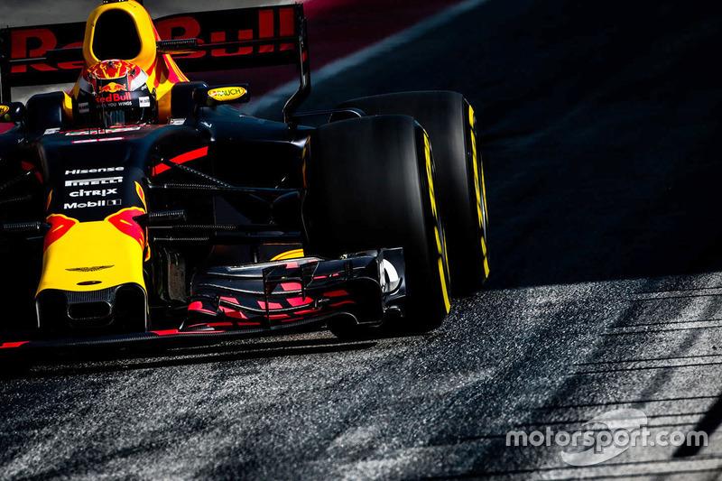 Vendredi : Max Verstappen, Red Bull Racing RB13