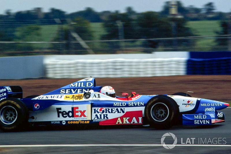 Martin Brundle prueba el Benetton Formula 1