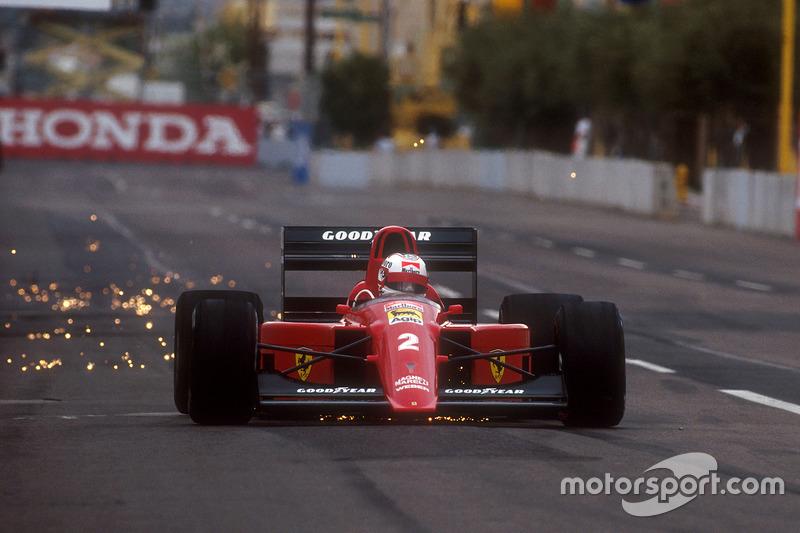 1990: Kaum Fortschritt in 2. Ferrari-Saison