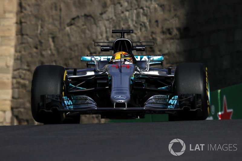 1. Льюіс Хемілтон, Mercedes-Benz F1 W08
