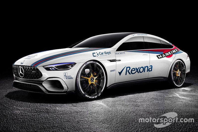 Mercedes Benz AMG GT Concept en livery de Williams