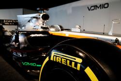 Sahara Force India F1 VJM10 - Pirelli tyre