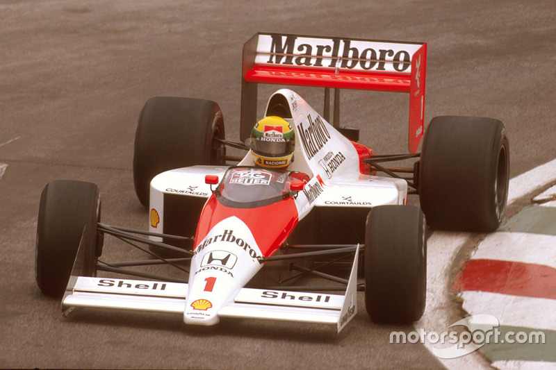 1989: Ayrton Senna, McLaren MP4 / 5 Honda