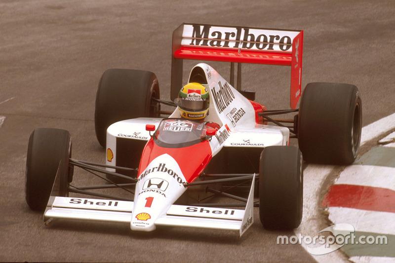 30-й поул: Айртон Сенна, Гран При Бразилии, 1989 год