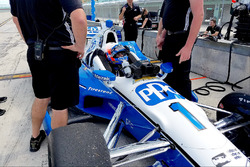 Ricky Taylor testing the Team Penske Chevrolet of Simon Pagenaud