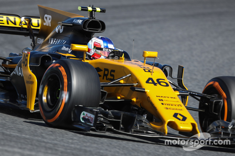 Сергій Сироткін, Renault Sport F1 Team RS17 Test Driver