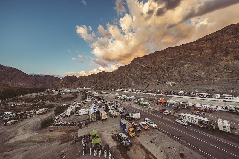Le bivouac du Dakar 2017 à San Juan