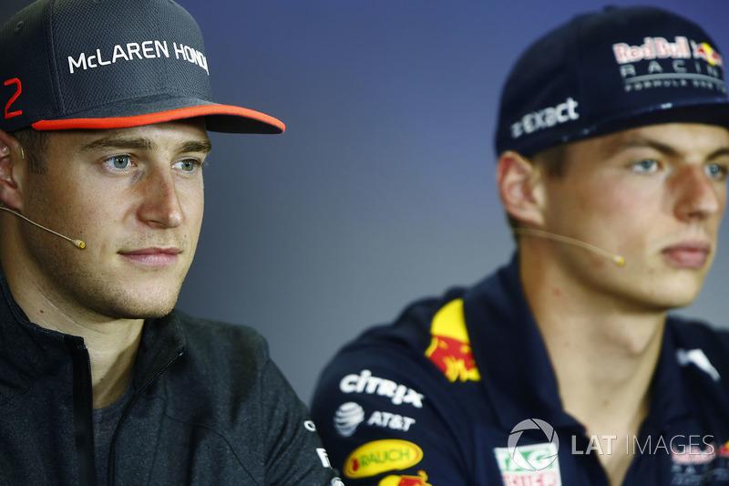 Стоффель Вандорн, McLaren, Макс Ферстаппен, Red Bull Racing
