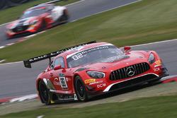 #88 Akka ASP Mercedes AMG GT3: Felix Serralles, Daniel Juncadella