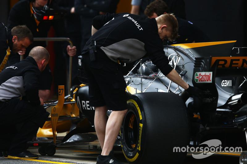 Nico Hulkenberg, Renault Sport F1 Team Sport F1
