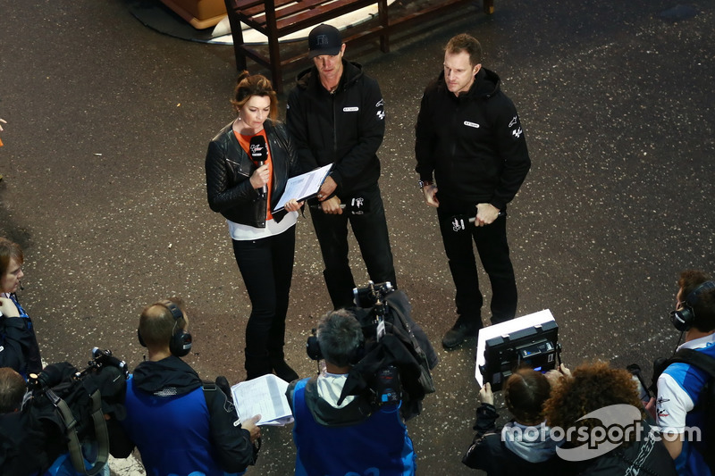 BT Sport TV: Suzi Perry, Colin Edwards, Neil Hodgson