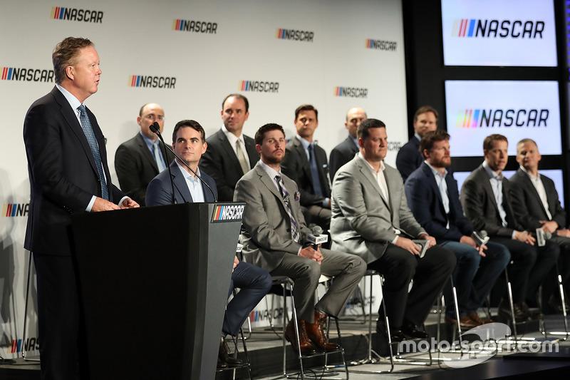 NASCAR jefe ejecutivo y Presidente Brian France
