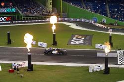 David Coulthard, driving the Whelen NASCAR