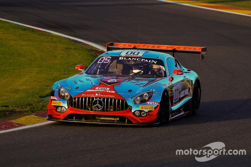 #00 AMG - Team Black Falcon Mercedes-AMG GT3: Maro Engel, Bernd Schneider, Yelmer Buurman