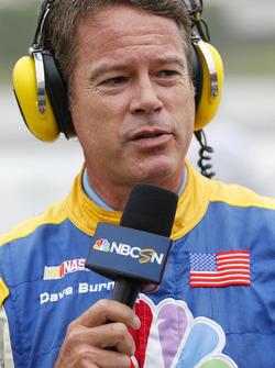 NBC presenter Dave Burns