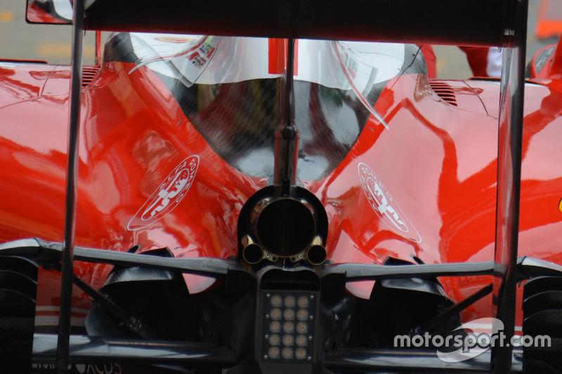 Ferrari SF16-H, Detail