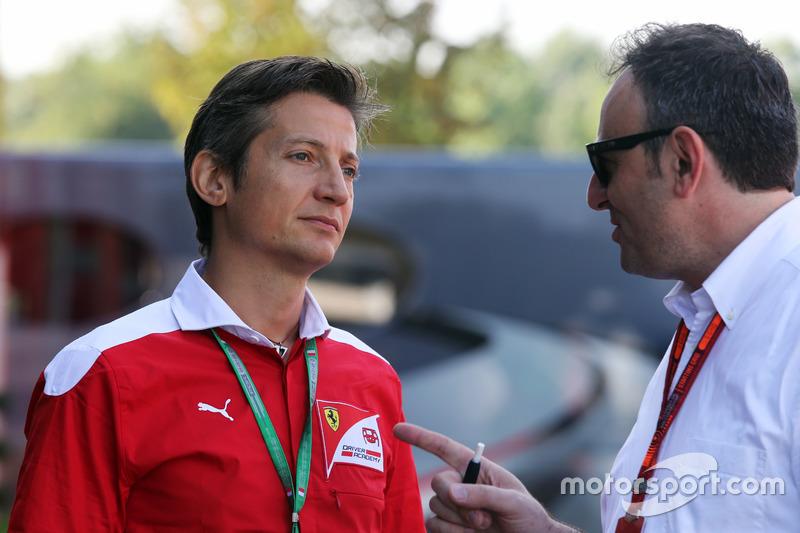Massimo Rivola, Ferrari Driver Academy Director