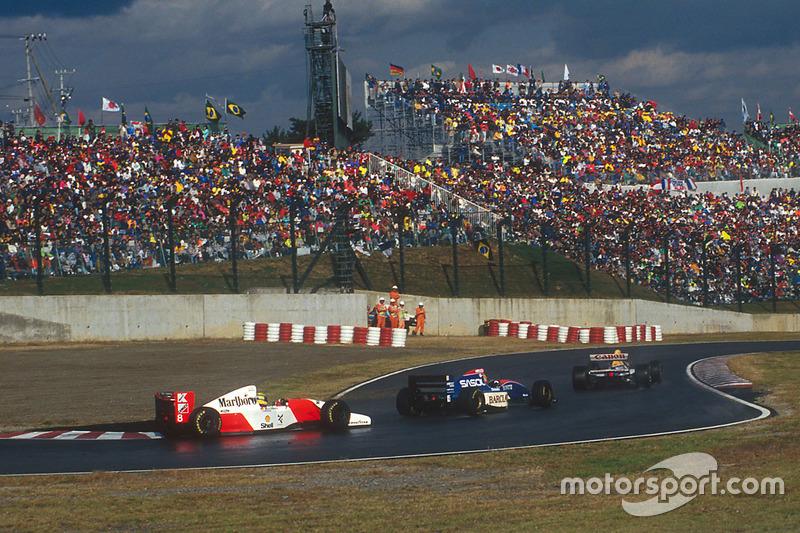 1993: Senna meninju Eddie Irvine