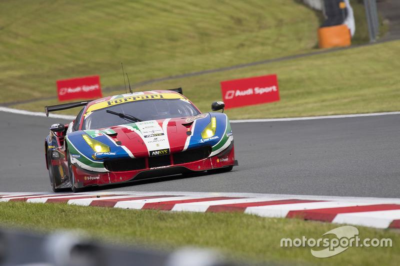 3. LMGTE Pro: #71 Ferrari 488 GTE: Davide Rigon, Sam Bird