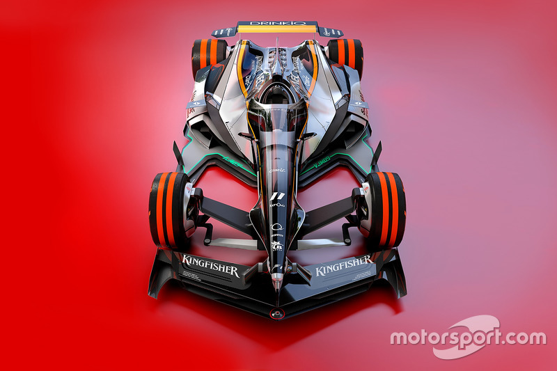 Designstudie: Force India 2030