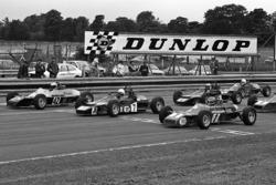 Ayrton Senna, Rick Morris et Alfonso Toledano