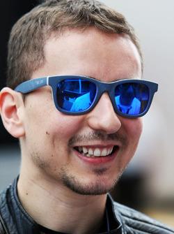 Jorge Lorenzo, pilote Yamaha en MotoGP