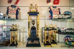 El trofeo de los ganadores