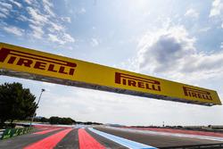 Pirelli signage