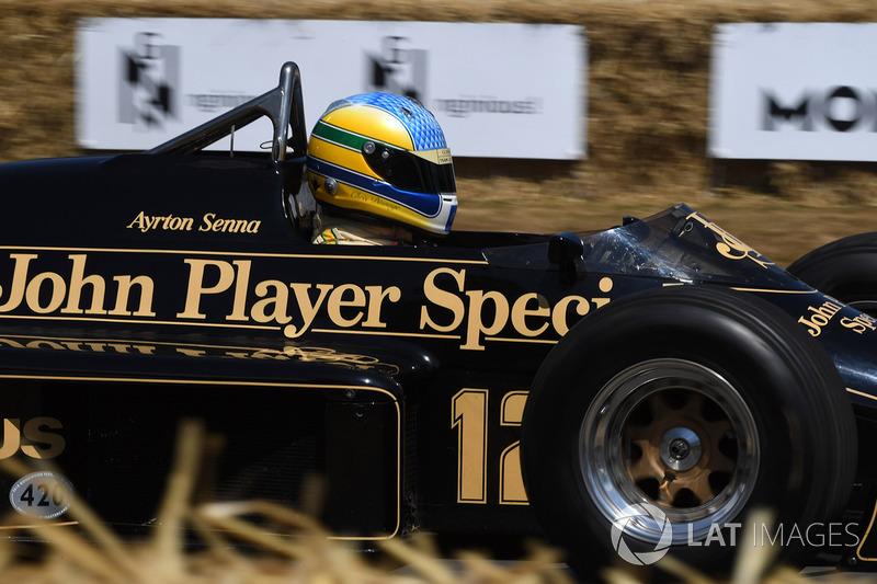 Chris Dinnage Lotus 97T