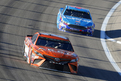 Daniel Suarez, Joe Gibbs Racing Toyota and Aric Almirola, Richard Petty Motorsports Ford