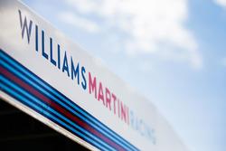 Williams Racing garage