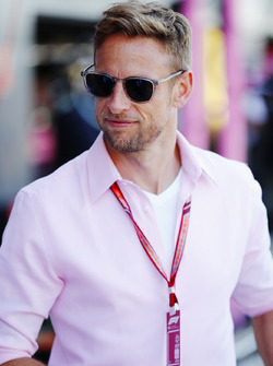 Former world Champion Jenson Button