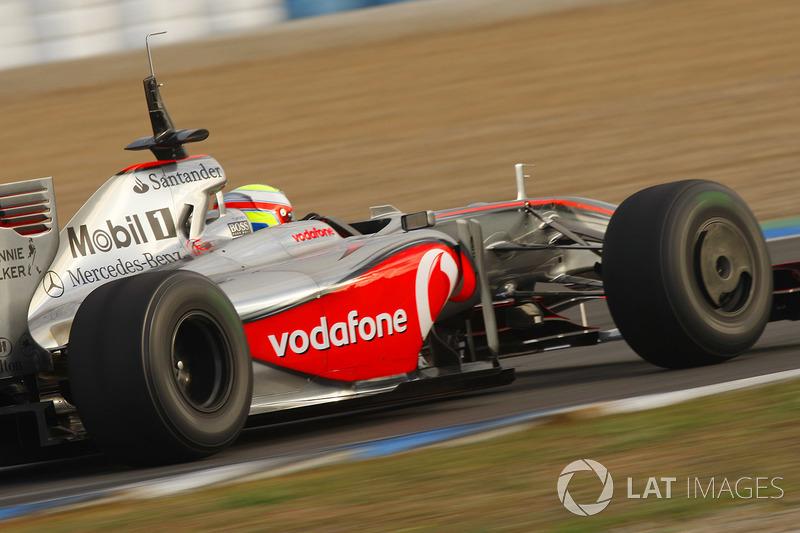 Оливер Терви, McLaren, 2009 год