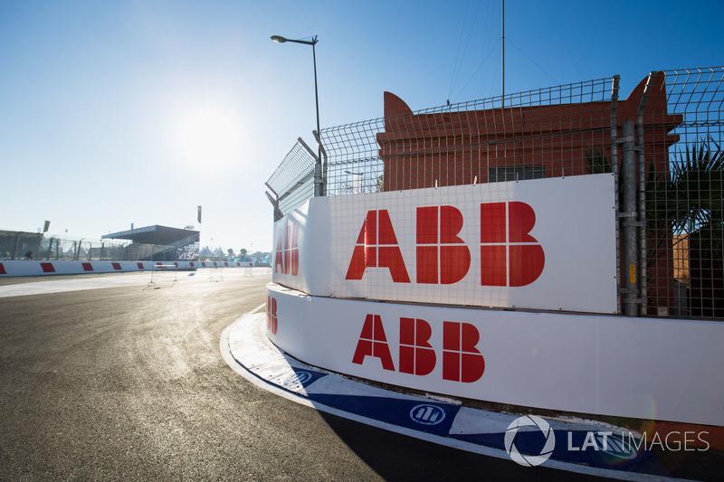 ABB logos around the circuit