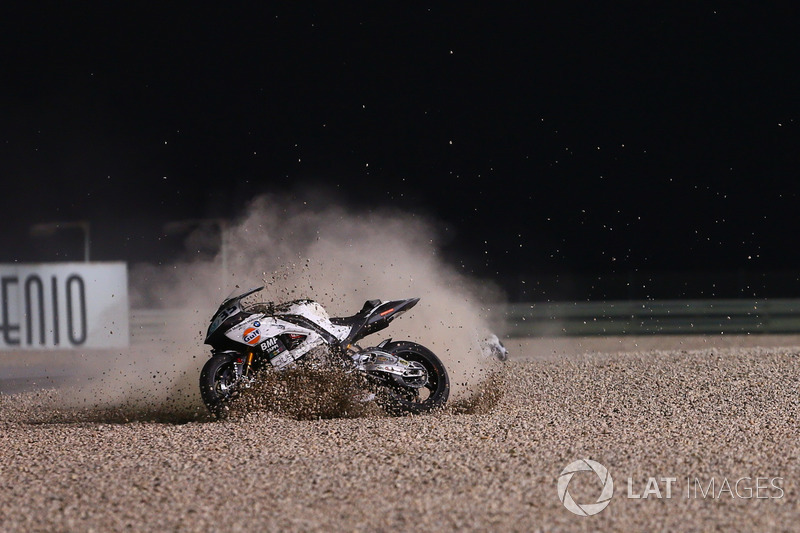 Crash, Raffaele De Rosa, Althea Racing