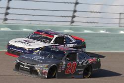Christopher Bell, Joe Gibbs Racing Toyota, William Byron, JR Motorsports Chevrolet